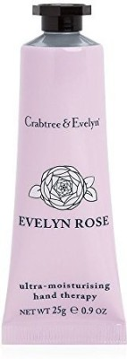 Crabtree & Evelyn Ultra-Moisturising Hand Therapy, Evelyn Rose(25 g)