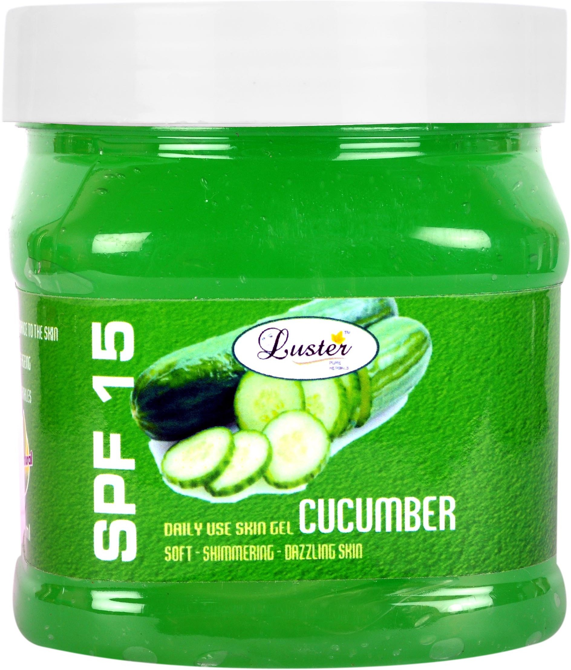 Luster Cucumber Massage Skin Gel(500 ml)