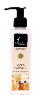 Natural Bath & Body Vanilla Butternut Body Milk