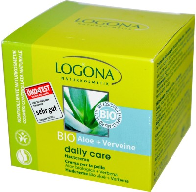 Logona Naturkosmetik, Daily Care, Skin Cream,Aloe,Verveine
