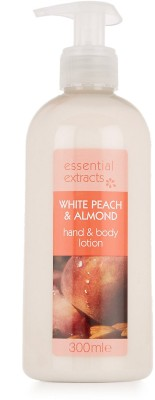 Essential Extracts M&S White Peach & Almond Hand & Body Lotion