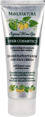 Manufaktura Nourishing Beer Face Cream with Shea Butter and Brewer's Yeast