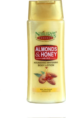 Nature,S Almonds & Honey Nourishing Whitening Body Lotion - Pack of 2
