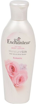 Enchanteur Moisture Silk Aloe vera & olive butter body lotion Romantic