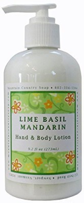Mountain Country Soap Lime Basil Mandarin Lotion