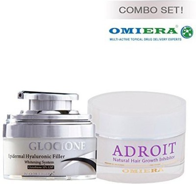 Omiera Labs Anti-Wrinkle Cream, Skin Whitening Cream, Dark Spots Corrector Glocione