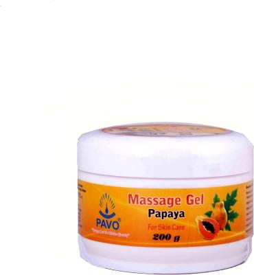 Pavo Papaya Massage Gel