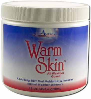 Aurora Naturally Jar Warm Skin Weather Guard
