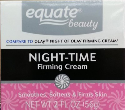 Equate Night-Time Firming Cream, Compare to Olay Night of Olay