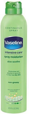 Vaseline Spray and Go Moisturizer in Aloe Fresh