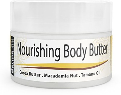 Derma-nu Miracle Skin Remedies Butter Organic - Moisturizer for Dry Skin - Best Massage Cream, Treatment for Sun Damaged Skin & Winter Skin. Skin Hydrating Booster - Cocoa Butter, Macadamia Nut Oil, Tamanu Oil & Aloe - 4oz