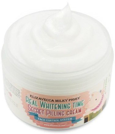 Elizabecca Milky Piggy Skincare (real Whitening Time Secret Pilling Cream )(200 g)