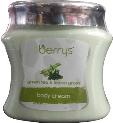 Berrys Spa Green Tea & Lemon Grass Body Cream