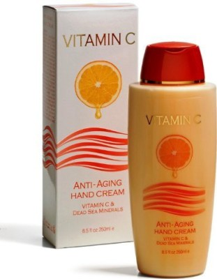 Unknown ANTI AGING HAND CREAM WITH VITAMIN C ADVANCED FORMULA & DEAD SEA MINERALSSPA COSMETICS Queen Of Sheba 8.5