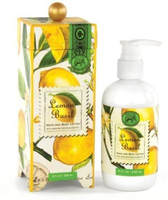Michel Design Works Hand and Body Lotion -, Lemon Basil