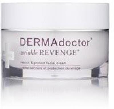 DERMAdoctor Wrinkle Revenge rescue & protect facial cream, (1.7 )