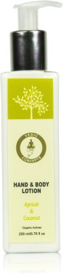 Vedic Concepts Hand & Body Lotion - Apricot & Coconut