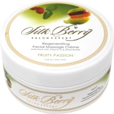 Silk Berry Fruity Passion Regenerating Massage Cream