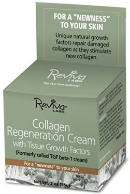 Reviva Labs Collagen Regeneration Cream with Tissue Growth Factors -