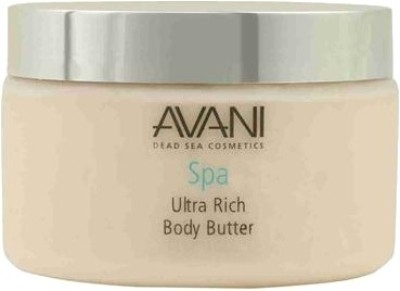 Avani Dead Sea Cosmetics - Ultra Rich Body Butter - Milk & Honey