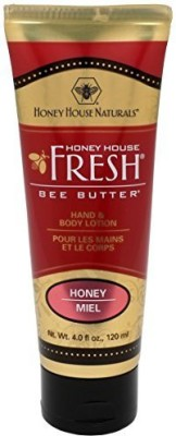 Honey House Naturals Bee Butter Lotion, Honey