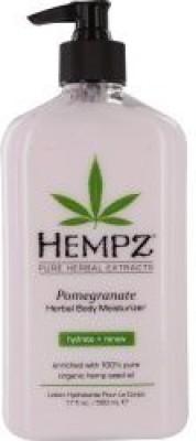 Hempz By Pomegranate Herbal Moisturizer Body Lotion For Unisex