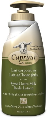 Caprina Fresh Goat's Milk Body Lotion with Olive and Wheat Protein