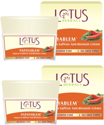 Lotus Papayablem Papaya-N-Saffron Anti-Blemish Creme
