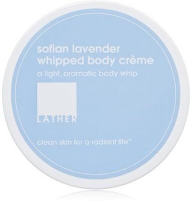 LATHER Sofian Lavender Whipped Body Crème, - Jar