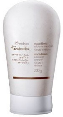 Natura Tododia Macadamia Esfoliante Corporal Hidrata E Renova (natura Macadamia Body Scrub )(200 g)
