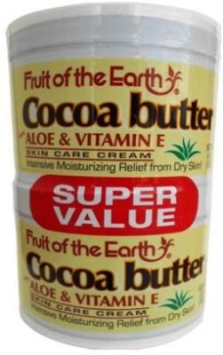 Fruits of Earth Cocoa Butter Cream With Aloe & Vitamin E