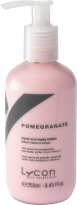 Lycon Pomegranate Hand & Body Lotion
