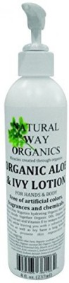 Natural Way Organics organic aloe & ivy lotion for hands & body - 8 oz [misc.]