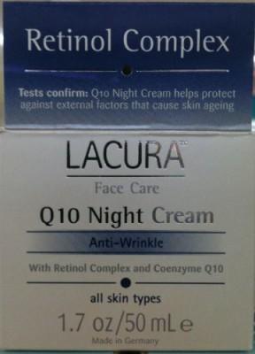 Chom LaCura Q10 NIGHT FACE CREAM Anti-Wrinkle