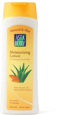 Astaberry Almond & Aloe Moisturizing Lotion