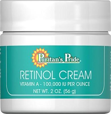 Puritan's Pride Retinol Cream, , A 100,000 IU per