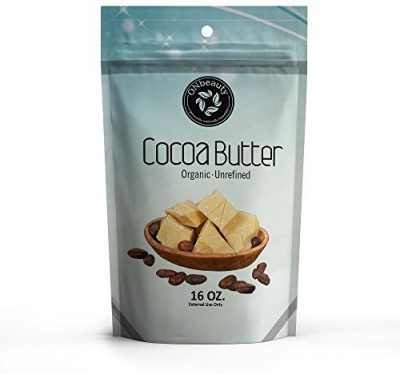ON Beauty SUMMER SALE !! - 100% Organic FOOD GRADE Cocoa Butter 16 Oz - Raw Unrefined, Best Food-Grade Quality. Imported from Organically grown on farm in Peru -FREE Downloadable Recipe eBook- (16)