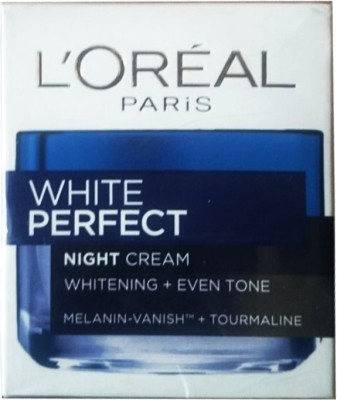 L,Oreal Paris White Perfect Night Cream Whitening + Even Tone ( Made in Indonesia)