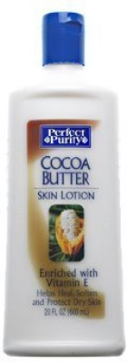 DAVION Perfect Purity cocoa butter skin lotion enriched with vitamin E