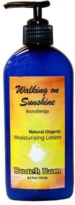 Beach Bum natural organic lotion - walking on sunshine - 8.5 oz