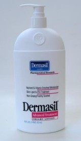 Rise International Dermasil Labs Pharmaceutical Research Advanced Treatment Creamy Lotion Freshly Scented