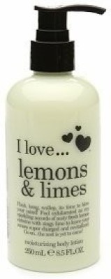 I Love Love I love... Moisturizing Body Lotion Lemons & Limes / 8.5