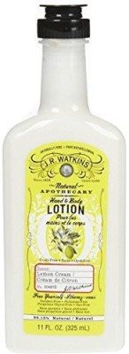 J.R. Watkins Naturals Apothecary Hand & Body Lotion Lemon Cream