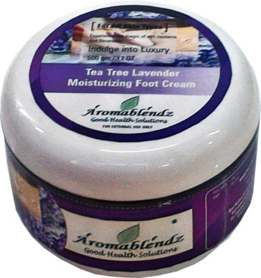 Aromablendz Tea Tree & Lavender Moisturizing Foot Cream