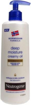 Neutrogena NORWEGIAN FORMULA DEEP MOISTURE CREAMY OIL(250 ml)