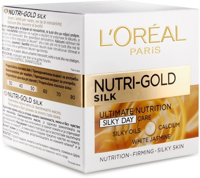 L,Oreal Paris Nutri Gold Silk Ultimate Nutrition Cream