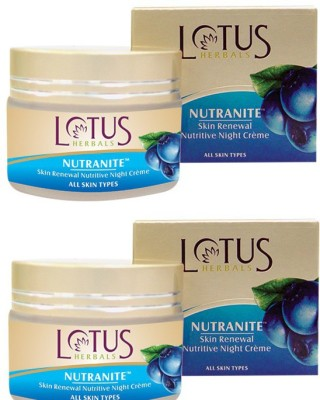 Lotus Nutranite Skin Renewal Nutritive Night Cream
