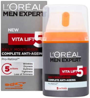 L ,Oreal Paris Men Expert Vita Lift 5 Daily Anti Ageing Moisturiser