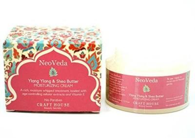 NeoVeda Ylang Ylang & Shea Butter Cream - 50 ML - No Paraben Ivory