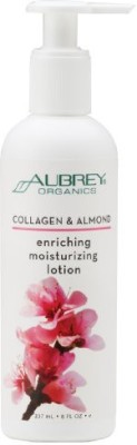 Aubrey Organics Hand And Body Lotion Collagen And Almond